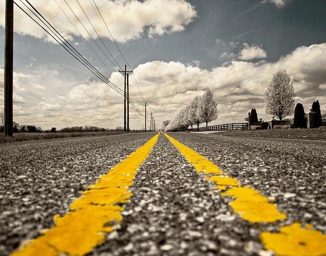 Straße entfernung
